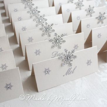 Snowflake Place Card 2